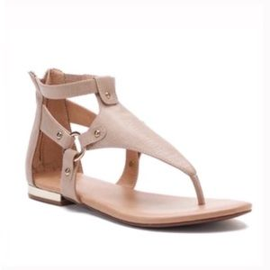 Shoes - Nude client women's gladiator sandals